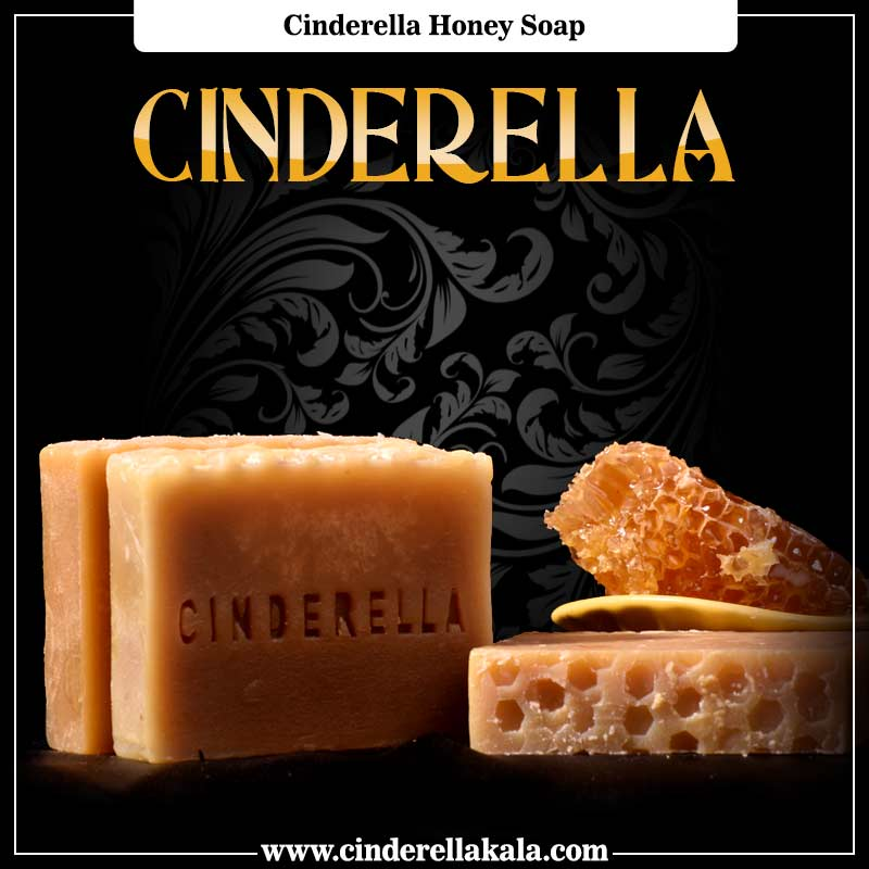Cinderella Honey Soap