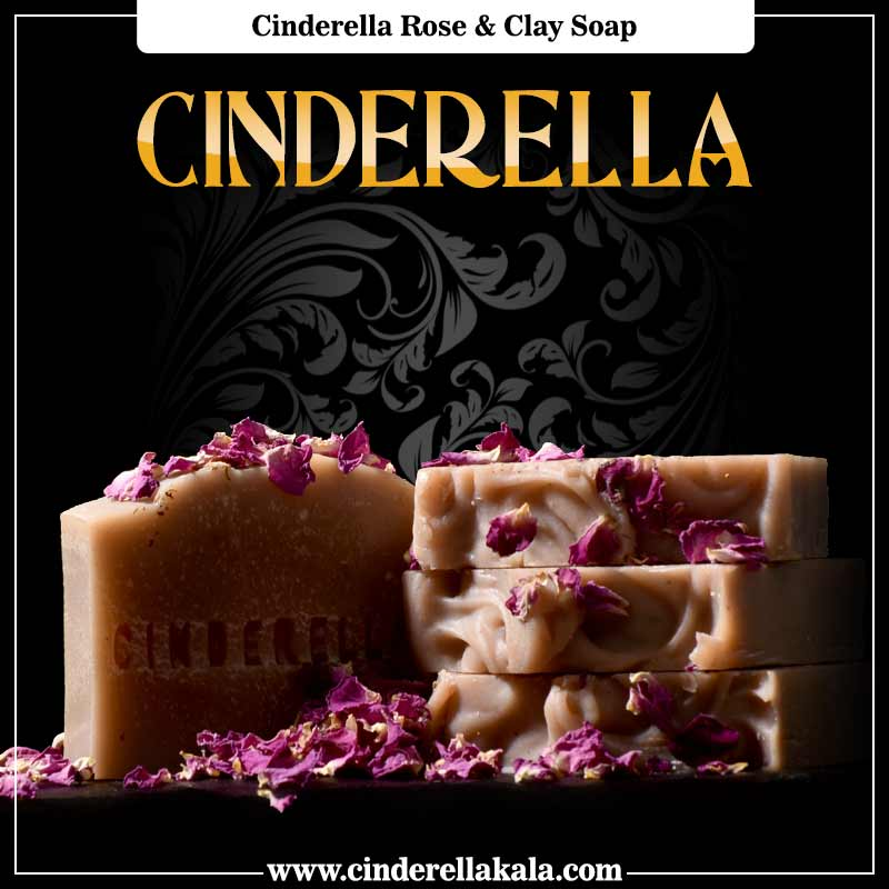 Cinderella Rose & Clay Soap