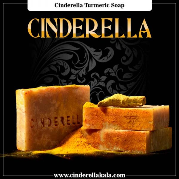 Cinderella Turmeric Soap