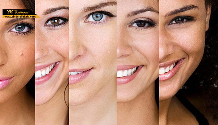 آشنایی با انواع پوست؛ معمولی، خشک، چرب، مختلط، حساس و نحوه تشخیص آن
