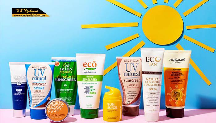راهنمای انتخاب ضد آفتاب مناسب