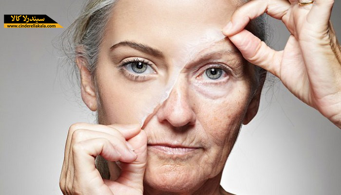 دلایل پیری و چروک شدن پوست
