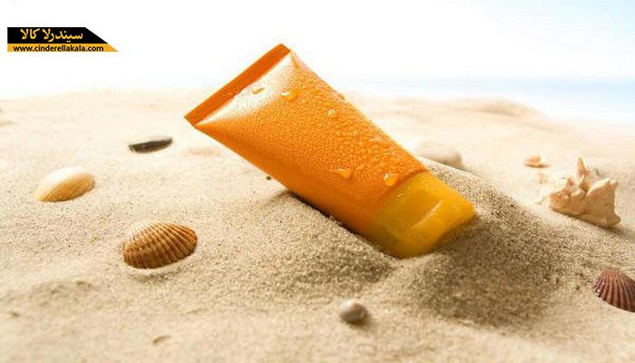 استفاده از کرم های ضد آفتاب