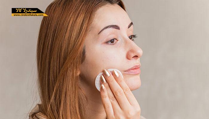 تمیز کردن بیش از حد پوست