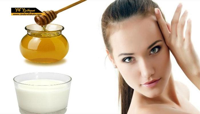 عسل و شیر برای درمان موخوره