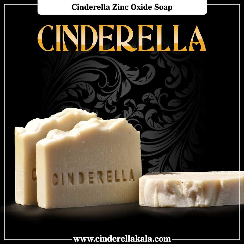 cinderella zinc oxide soap